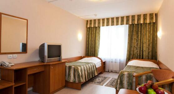 Вместительный стандарт двухместный в гостинице Восход